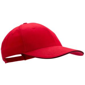 Gorra Algodón 100% Peinado Rubec Rojo Decotamp
