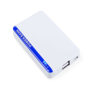 Power Bank Vilek Blanco/Azul Decotamp